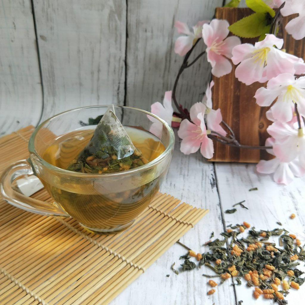 十大常喝茶類功效玄米綠茶